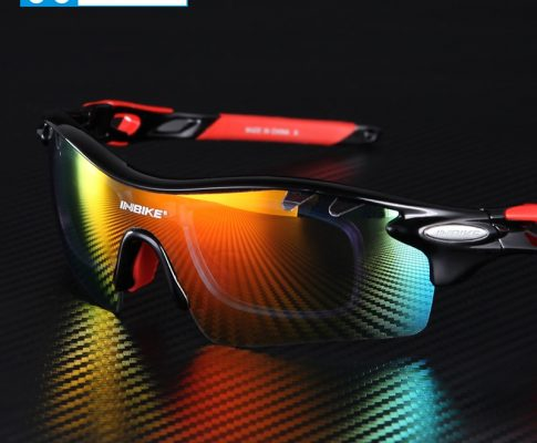 Cycling Glasses Men Women Polarized Bike Eyewear Bicycle Goggles Outdoor Sports Bicycle Sunglasses Goggles 5 Groups of Lenses Review