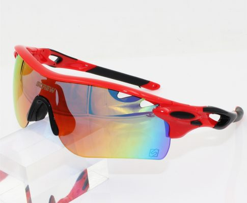 2017 Sale Men Polarized Cycling Glasses Bicycle Sport Sunglasses 5 Lenses Box Oculos Bike Gafas MTB Review
