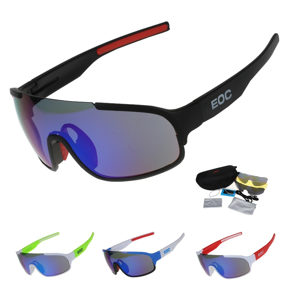 COMAXSUN Polarized Cycling Glasses Bike Riding Protection Goggles Driving Outdoor Sports Sunglasses UV 400 STS814 3 Color