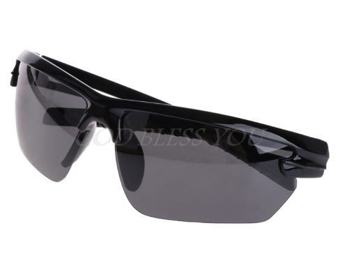 Free Shipping Glasses Fishing Cycling Polarized Outdoor Sunglasses Half Frame Sun Sport UV400 Review