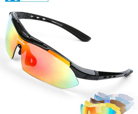 INBIKE Cycling Glasses UV Proof Polarized 5 Lens Frame Eyewear Bike Bicycle Glasses Outdoor Sport Goggle Drive Sunglasses 619 Review