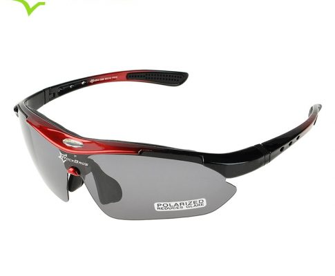 ROCKBROS 100% Sun Glasses Polarized Bicycle Eyewear 5 Lens MTB Road Bike Outdoor Sports Running Cycling Sunglasses Glasses 29g Review