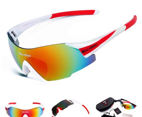 2018 New Arrive Cycling Glasses With Box Bicycle Sunglasses Men Women Cycle Glass gafas bici occhiali mtb Sport Cycling Eyewear Review
