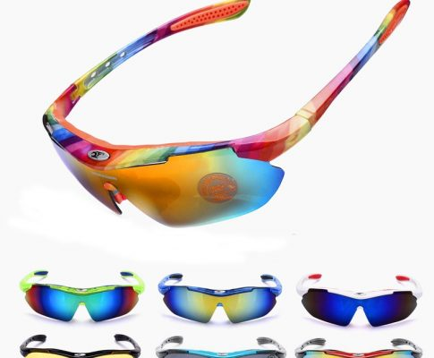 2018 New Come Rainbow Cycling Glasses UV400 Bike Bicycle Outdoor Sports Riding Goggles Anti-UV Fishing Driving Eyewear 14 Color Review