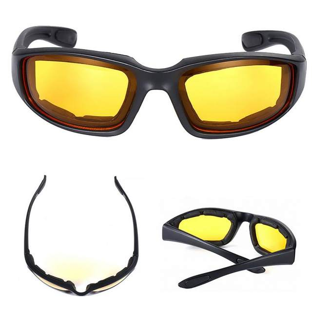 Eye Protection Motorcycle Riding Glasses Wind Resistant Shatterproof Goggles