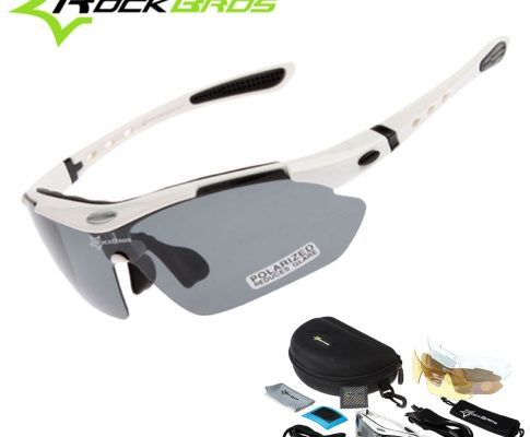 Hot! RockBros Polarized Cycling Sun Glasses Outdoor Sports Bicycle clismo Road Bike MTB Sunglasses TR90 Goggles Eyewear 5 Lens Review