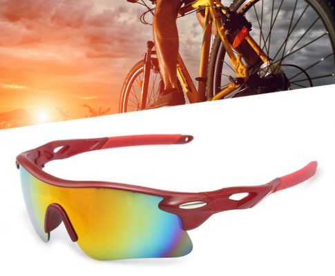 Outdoor cycling glasses Riding Bike Windproof Sandproof Sunglasses Glasses Polarized Bicycle Goggles Sports Review