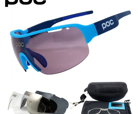 POC Do Half Blade 4 lens Polarized Outdoor Cycling Glasses Bike Bicycle Goggles Sport Cycling Sunglasses Men Cycling Eyewear Review
