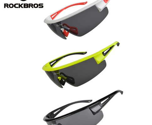 ROCKBROS Polarized UV400 Cycling Sunglasses Bicycle Bike Glasses Gafas Occhiali Ciclismo Cycling Bike Equipment Eyewear 3 Colors Review