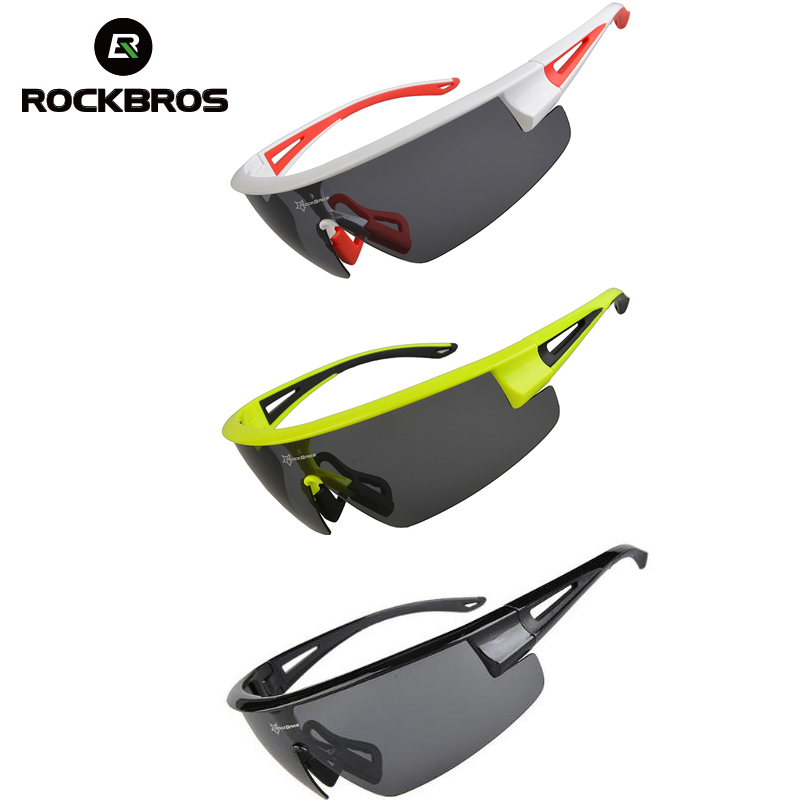ROCKBROS Polarized UV400 Cycling Sunglasses Bicycle Bike Glasses Gafas Occhiali Ciclismo Cycling Bike Equipment Eyewear 3 Colors