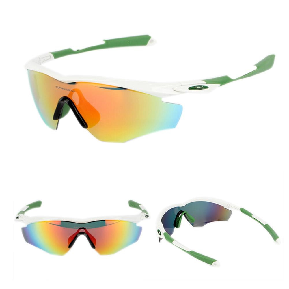 Riding 3 Pieces Lenses Sports Glasses Cycling Glasses Polarized Mountain Bike Riding Glasses Running Glasses Cycling Equipment