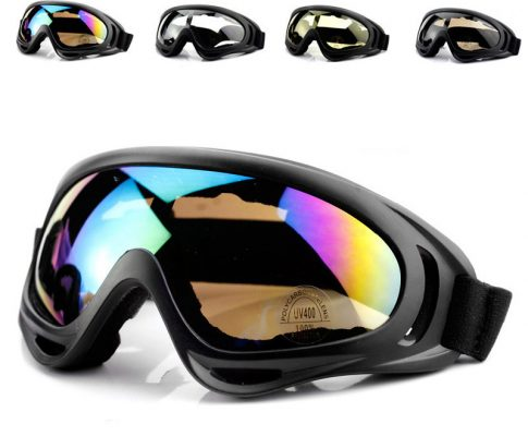 Riding Bike Glasses Bicycle Protective Goggles Motorcycle Sports Goggles Windproof Glasses Ski Goggles Airsoft Paintball Review