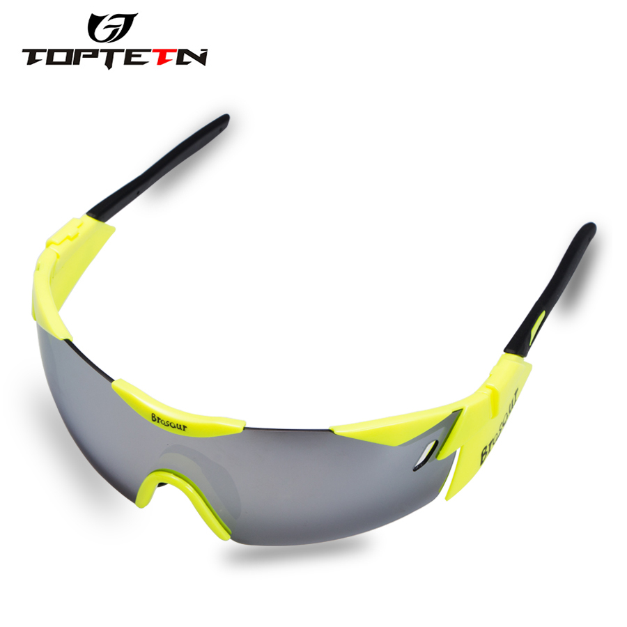 Sale Professional Cycling Glasses Bike Goggles Outdoor Sports Bicycle Sunglasses Uv 400 With 3 Lens Tr90 Color