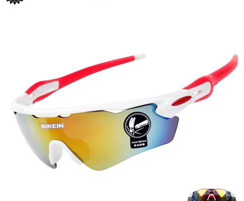 BIKEIN Windproof Cycling Bike Sunglasses UV-400 Goggle Outdoor Sports Sun Glasses MTB Bike Eyewear PC Goggles Bicycle Accessory Review