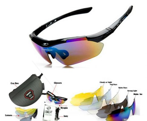 Bicycle Eyeglasses Goggles 2017 Sport Cycling glasses outdoor Eyewear Polarized Original For Men Women sunglasses cyclisme Review
