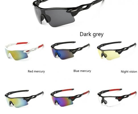 Cycling Eyewear Unisex Bicycle Sunglass UV400 Bike Cycling Glasses Outdoor Sports Sun Glasses Riding Goggles Review