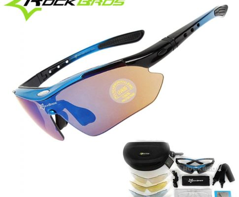 Hot! New RockBros Polarized 5 Lens Cycling Sun Glasses Outdoor Sports Bicycle clismo Bike Sunglasses TR90 Eyewear Goggles Review