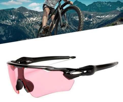 PC Explosion-proof Polarized Sunglasses Visor Reflective Cycling Sunglasses Goggles Riding Bike Sunglasses for Outdoor Sports Review