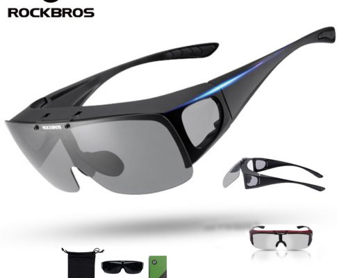 ROCKBROS Cycling Glasses Myopia Polarized Kit Sunglasses Adjustable Road Mountain Bike Bicycle Riding Protection Goggles Ciclism Review