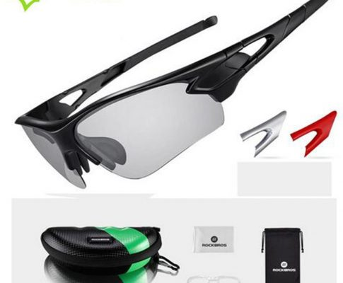 ROCKBROS Glasses Cycling Eyewear Photochromic Polarized Glasses Outdoor Sports Mountain Bike Bicycle Windproof Glasses RK0003 Review
