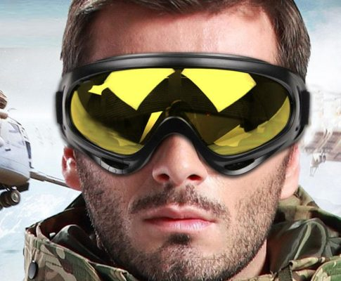WOLFBIKE X400 UV Protection Outdoor Sports Ski Snowboard Skate Goggles Motorcycle Off-Road Cycling Goggle Glasses Eyewear Lens Review