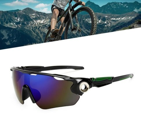 1pc Cycling Glasses Bike Goggles for Outdoor Riding Anti-UV Colorful Sunglasses Travel By Walking Reflective Sunshade Sunglasses Review