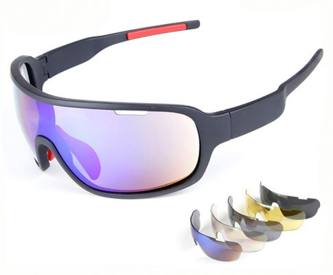 5 Lens TR90 Men Polarized Bicycle Sun Glasses Full Frame Sports Goggles Cycling bike Sunglasses Riding Fishing Windproof Eyewear Review