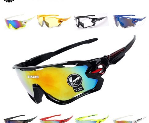 BIKEIN Outdoor Sports Cycling Bicycle UV-400 Goggles Windproof Sunglasses Riding MTB Bike Eyewear Equipment Bike Accessories 32g Review