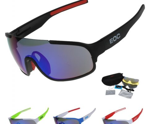 COMAXSUN Polarized Cycling Glasses Bike Riding Protection Goggles Driving Outdoor Sports Sunglasses UV 400 STS814 3 Color Review