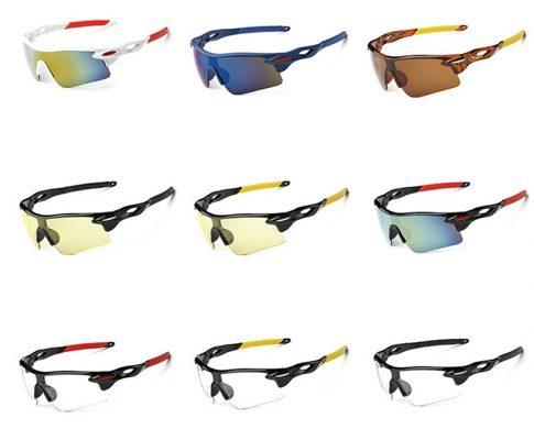 Fashional Cycling Eyewear Unisex Outdoor Sunglass UV400 Bike Cycling Glasses Bicycle Sports Sun Glasses Riding Goggles Review