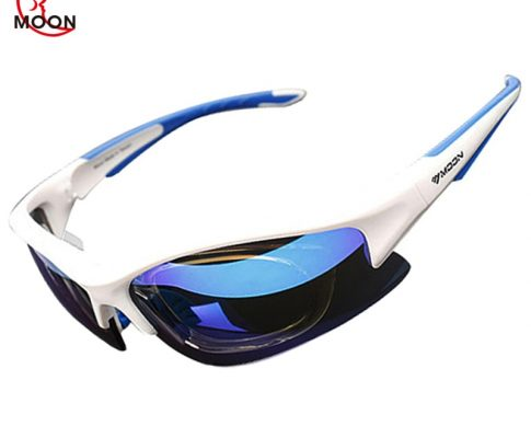 MOON Polarized Cycling Sunglasses Outdoor Sports Bicycle Glasses Bike Cycling Eyewear Goggles Sun Glassese 5 Lens 3 Colors Review
