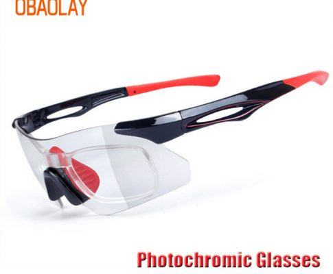 OBAOLAY Photochromic Cycling Goggles Universal Protect Polarized Bike Sunglasses Mountain Road Bicycle Eyewear Cycling Glasses Review