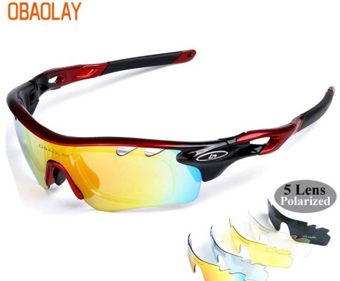 OBAOLAY Polarized Bicycle Eyewear Outdoor Sport Cycling Sunglasses UV400 MTB Glasses Riding Bike Goggle oculos de ciclismo Review