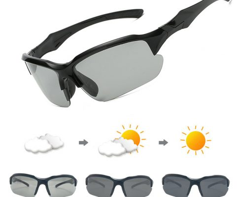 Photochromic Cycling Sunglasses Polarized Bicycle Glasses For Men Women Driving Goggles UV400 MTB Road Bike Sports Eyewear 2018 Review