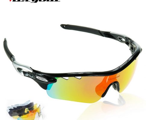 VICTGOAL Polarized Cycling Glasses Unisex TR90 Bicycle Sunglasses Outdoor Sport MTB Fishing Running Cycling Bike Eyewear 5 Lens Review