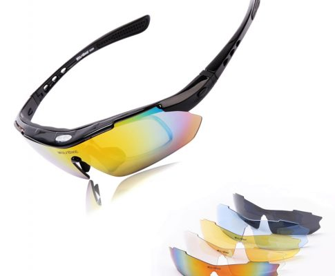 WOLFBIKE Cycling Glasses TR90 Goggles Polarized Bike Bicycle Sun Glasses Driving Skiing Cycling Eyewear with 5 Lenses Review
