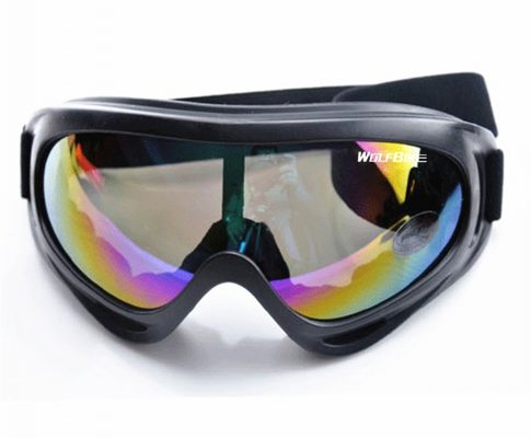 WOLFBIKE Windproof Airsoft Snowmobile Ski goggles Protective Glasses Outdoor Motorcycle Colourful Cycling Sunglasses Eyewear Review