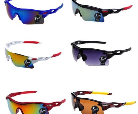 outdoor Cycling glasses sports explosion-proof sunglasses colorful windproof glasses bicycle sunglasses Review