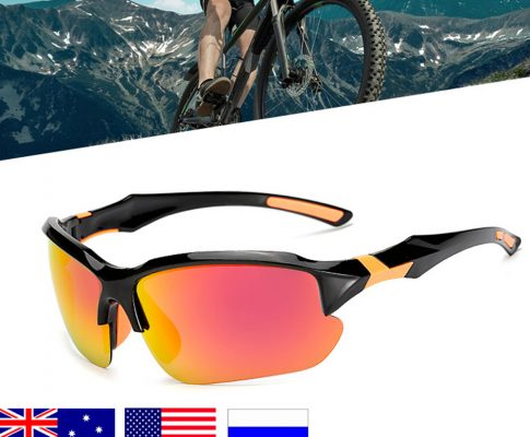2018 New Color-changing Polarized Cycling Glasses Bike Eyewear Sports Sunglasses MTB Bicycle Goggles For Riding Fishing Review