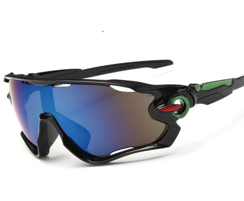 2018new Uv400 Cycling Glasses Goggles Hiking Motorcycle Men's Bicycle Sports Sunglasses Reflective Sunglasses Explosion- Review