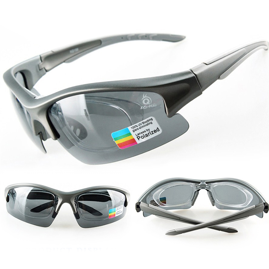 Hot Cycling Glasses Polarized TR90 UV400 With Myopia Frame Outdoor Sports Bike Sunglasses 5 Lens Protect Eyewear Goggles Unisex