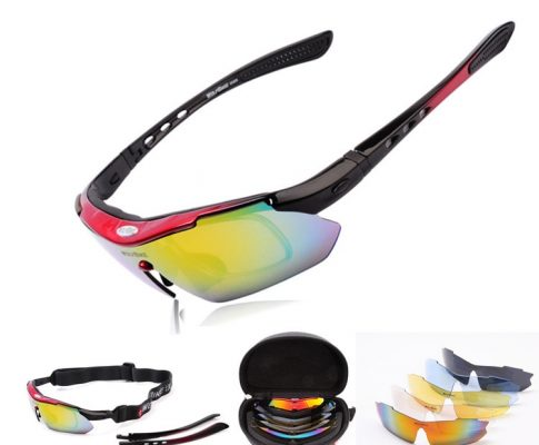 Hot Sale Polarized Sports Men Sunglasses Road Cycling Glasses Mountain Bike Bicycle Riding Protection Goggles Eyewear 5 Lens Review