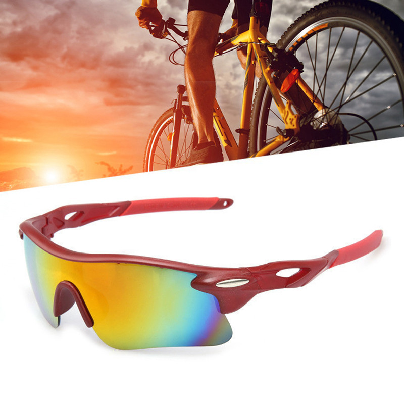 Outdoor cycling glasses Riding Bike Windproof Sandproof Sunglasses Glasses Polarized Bicycle Goggles Sports