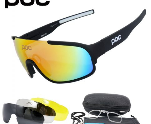 POC Crave 4 Lens UV400 Polarized Cycling SunGlasses Mountain Bike Goggles Cycling Eyewear Bicycle Cycling Glasses 2018 Review