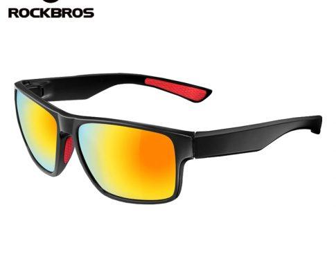 ROCKBROS Polarized Cycling Glasses Eyewear Bicycle Riding Protection Goggles Driving Hiking Sports Sunglasses Cycling Eyewear Review