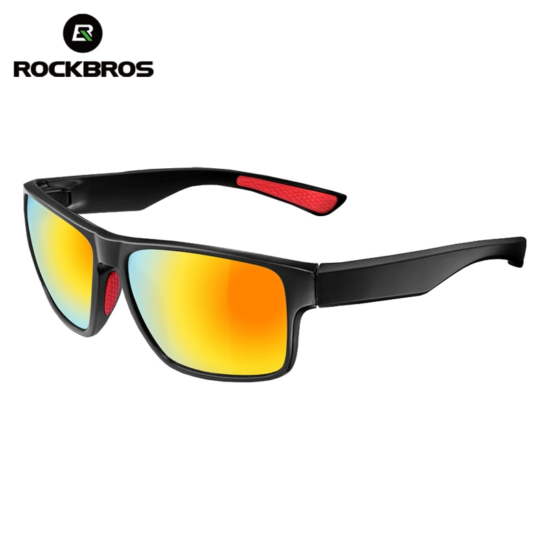 ROCKBROS Polarized Cycling Glasses Eyewear Bicycle Riding Protection Goggles Driving Hiking Sports Sunglasses Cycling Eyewear