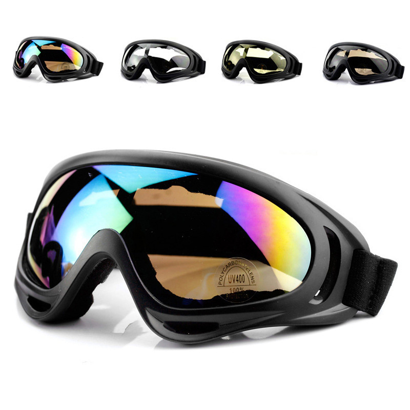 Riding Bike Glasses Bicycle Protective Goggles Motorcycle Sports Goggles Windproof Glasses Ski Goggles Airsoft Paintball