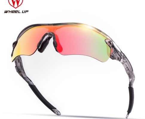 WHEEL UP HD Polarized Cycling Sun Glasses Coating Outdoor Sports Goggles UV400 Bike Sunglasses Driving Bicycle Glasses Eyewear Review