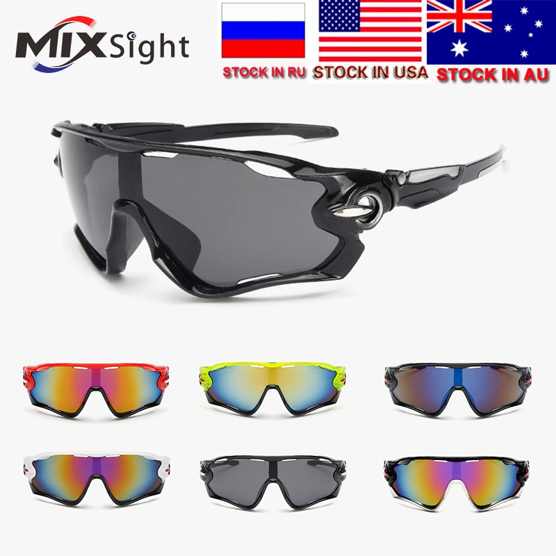 ZK30 2018 UV400 Cycling Eyewear Bike Bicycle Sports Glasses Hiking Men Motorcycle Sunglasses Reflective Explosion-proof Goggles